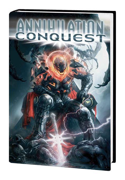 jan150887 annihilation conquest omnibus hc previews world