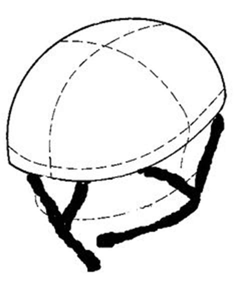 bike helmet design template bike helmet template clipart best