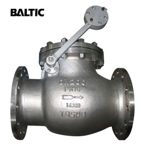 swing valve china swing check valve manufacturer baltic valve company