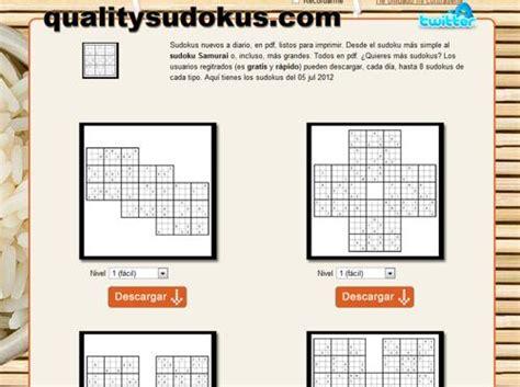 qualitysudokus sudokus en pdf a diario 10 sitios y aplicaciones para encontrar sudokus gratis
