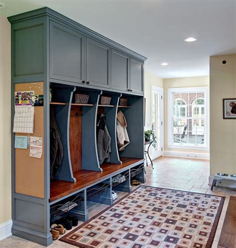 mud room rug mudroom lockers entry traditional with area rug basket storage coats corkboard cubbies cybball