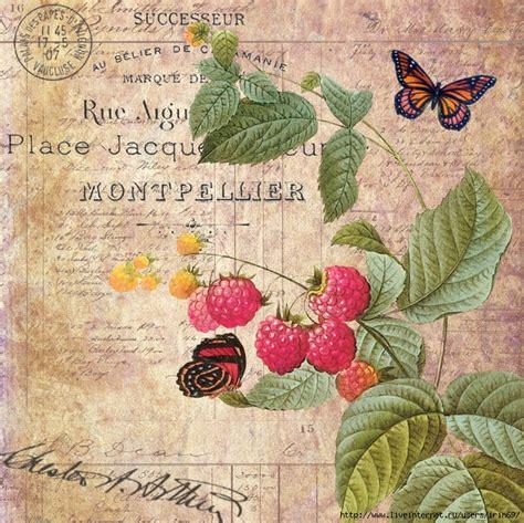 imagenes lindas retro mi baul del decoupage preciosos collages con flores