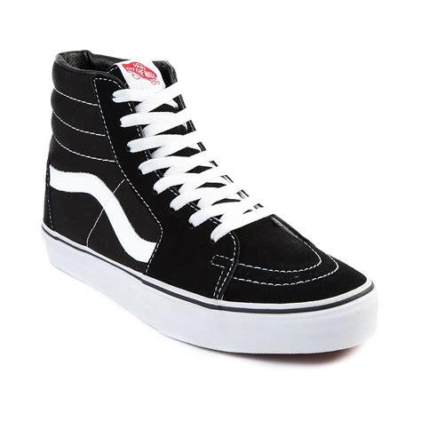 journey shoes vans sk8 hi skate shoe blackwhite 498067