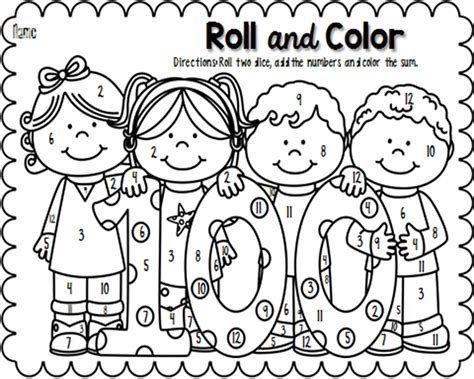 aswespeak biz 100th day coloring pages