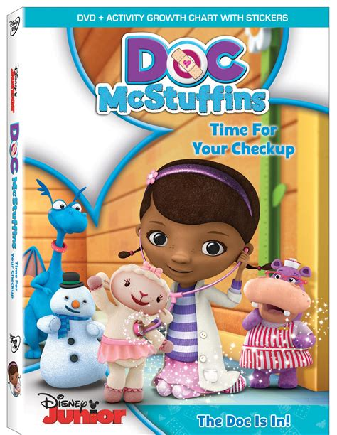 Doc Mcstuffins by Doc Mcstuffins Quot Time For Your Check Up Available On Dvd