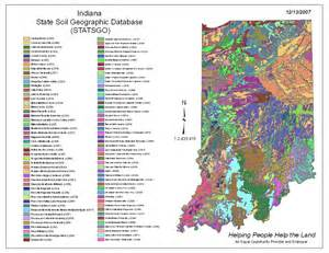 indiana statsgo map from the national general soil map