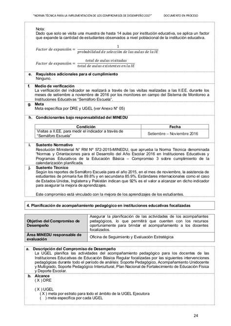 norma tcnica normas que regulan el proceso norma tecnica compromisos 2017 propuesta proceso
