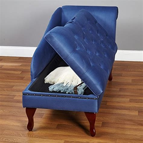 chaise storage lounge blue chaise storage lounge chair sofa loveseat for living