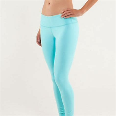 light blue leggings women 53 off lululemon athletica pants sold lulu lemon