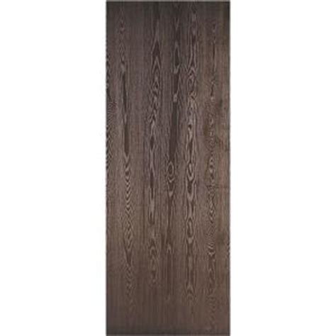 home depot hollow core interior doors masonite 36 in x 80 in legacy textured flush hardboard hollow core walnut veneer composite