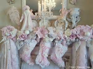 shabby chic garland s home inexpensive pink mantel