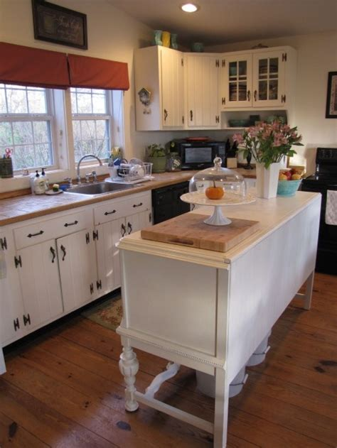 like the vintage buffet for an island kitchen