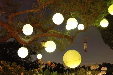 collection  outdoor hanging paper lantern lights
