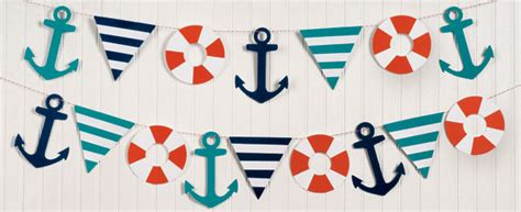 Garland Home Decor Navigating Nautical A Summer With Paper Source Paper