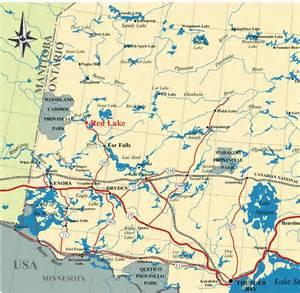 map of western ontario canada fishing northwestern ontario northern pike walleye