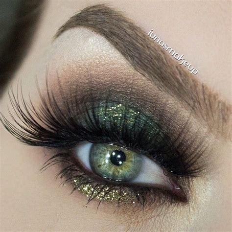 Eyeshadow Green moss green smokey eye diy makeup ideas olives and shadows