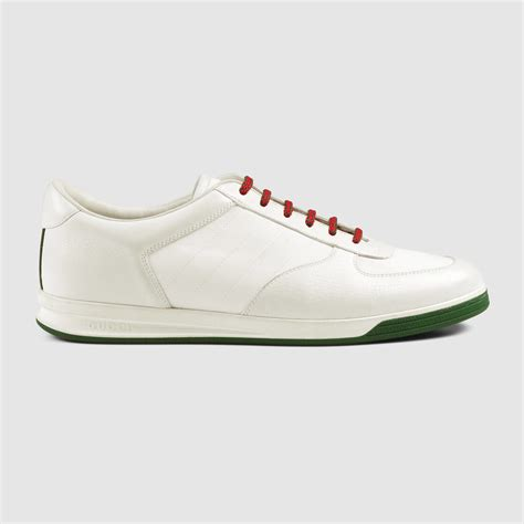 gucci white sneakers gucci 1984 leather low top sneaker in white for white