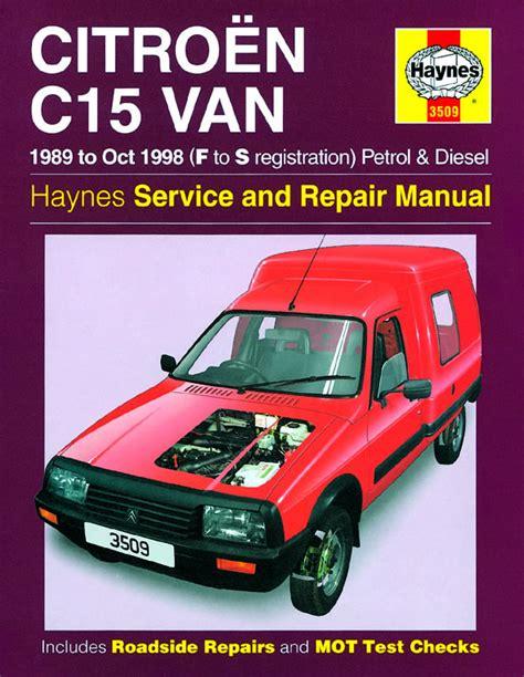 where to buy car manuals 1998 ford econoline e250 head up display haynes manual citro 235 n c15 van petrol diesel 1989 oct 1998