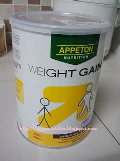 Appeton Weight Gain Untuk Dewasa misi gemuk 3 appeton weight gain mysweetzlife