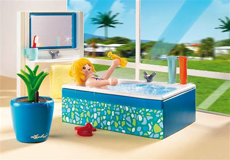 Playmobil Salle De Bain by Playmobil 5577 Salle De Bains Avec Baignoire Achat