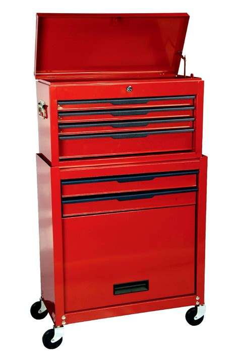 Craftsman Tool Chest Drawer Slides by Craftsman 24 Quot 6 Drawer Rolling Storage Compartment With