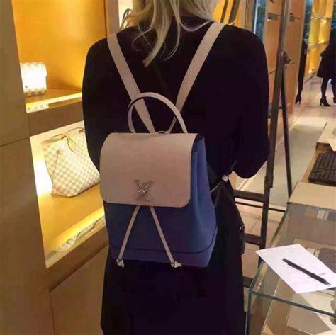 Tas Selempang Lv Lock Me 2 Ii Bb Leather Top Chain Handle Import lockme top quality designer handbags cheap handbags