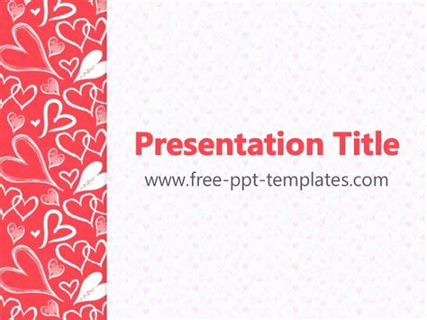 powerpoint templates free download heart hearts ppt templates