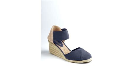 Flatshoes Charla by ralph charla wedge espadrilles in blue