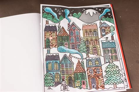 christmas magic painting book peek inside usborne