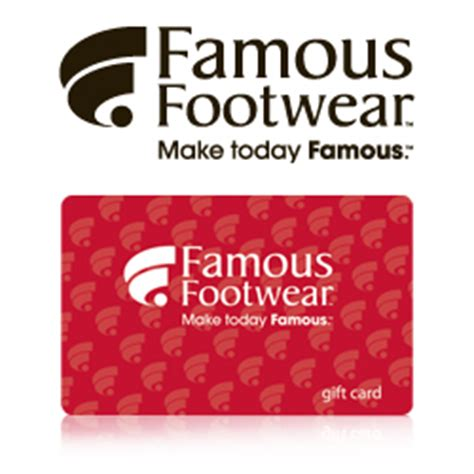 Famous Footwear Gift Card - buy famous footwear gift cards at giftcertificates com