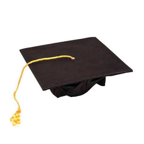 graduation cap deluxe black graduation cap