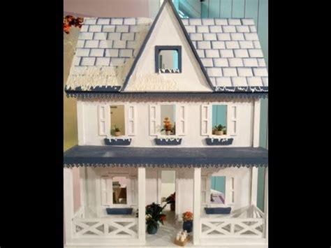 como hacer una casa para munecas de carton como hacer una casa de mu 241 ecas con t 233 cnicas en papel youtube
