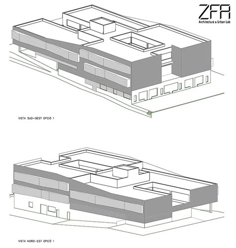 Urban Design Lab Zfa | reform of the new headquarters for the school of design