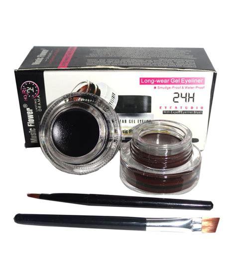 Termurah Flower 2 In 1 Eyebrow Eyeliner flower lasting gel eyeliner reviews flower lasting gel eyeliner prices