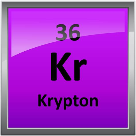 Krypton L by 036 Krypton Science Notes And Projects