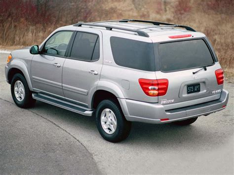Toyota Sequoia Weight Toyota Sequoia Technical Specifications And Fuel Economy