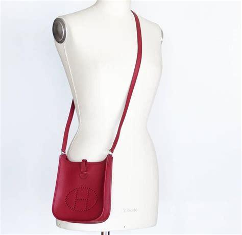 Hermes Mini V hermes bag evelyne tpm mini epsom leather vintage