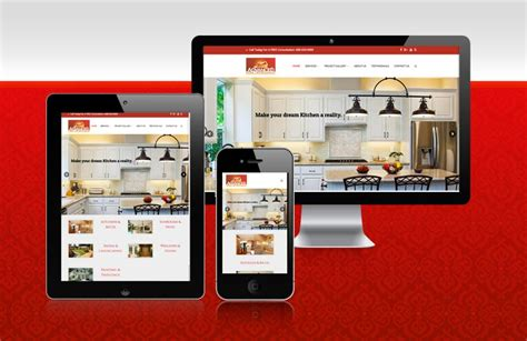 advanced home improvement website ca visual design