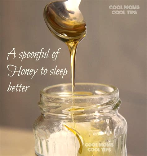 honey before bed helpful tips to help sleep better cool moms cool tips