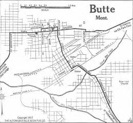 Butte Montana Map by Montana Maps Perry Casta 241 Eda Map Collection Ut Library