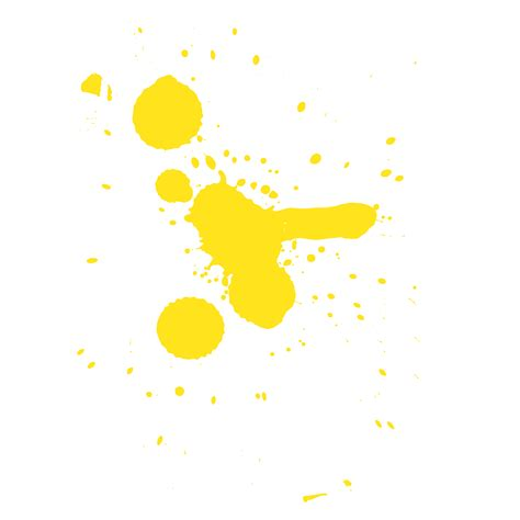 yellow paint yellow paint splash png www imgkid com the image kid