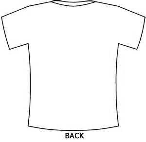 Shirt Template Back back of t shirt template www imgkid the image kid