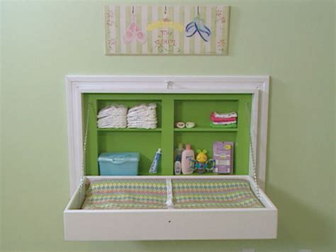 15 Clever Nursery Storage Solutions And Diys Babble How Much Is A Changing Table