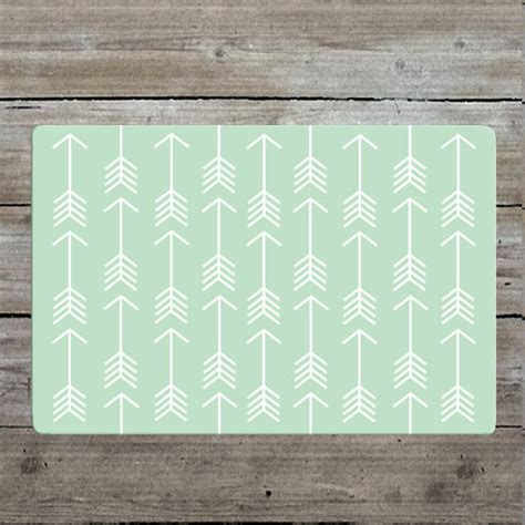 Nursery Rug by Mint Arrow Rug Nursery Rug Woodland Rug Mint Rug