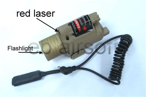 Termurah Tactical Airsoft M6 Laser With Flashlight Include ebairsoft airsoft parts tactical gear t qd m6 flash light laser sight version fff00049