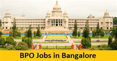 Career In Bpo After Mba by Bpo In Bangalore 12359 Vacancies Opening