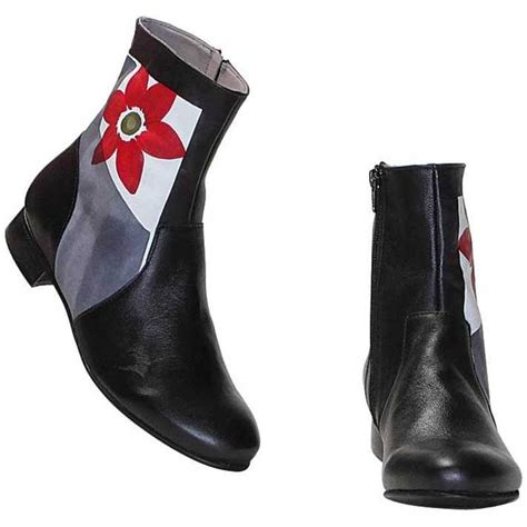 I Must These Shoes By Fiore by Boots Acquerello Black Fiore