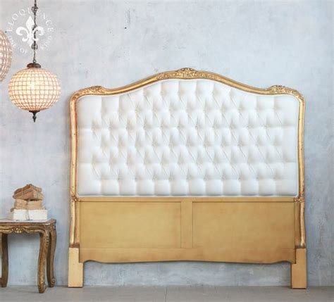 antique tufted headboard eloquence antique reproduction gold tufted headboard