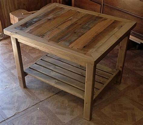 pallet end table some useful ideas on reclaimed diy pallet end