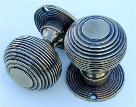 Beehive Door Knob by Solid Brass Style Beehive Door Knobs